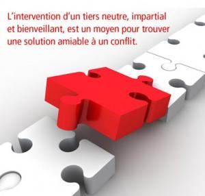 L'intervention d'un tiers neutre, impartial et bienveillant, est un moyen pour trouver une solution amiable a un conflit.